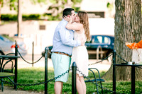 SELECT Engagement of Pat Carberry and Elizabeth Grazioli at National Mall