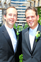 Wedding of Mark Osborne and Ryan Creighan by www.AlfredoFlores.net Photography at Crowne Plaza Washington National Hotel